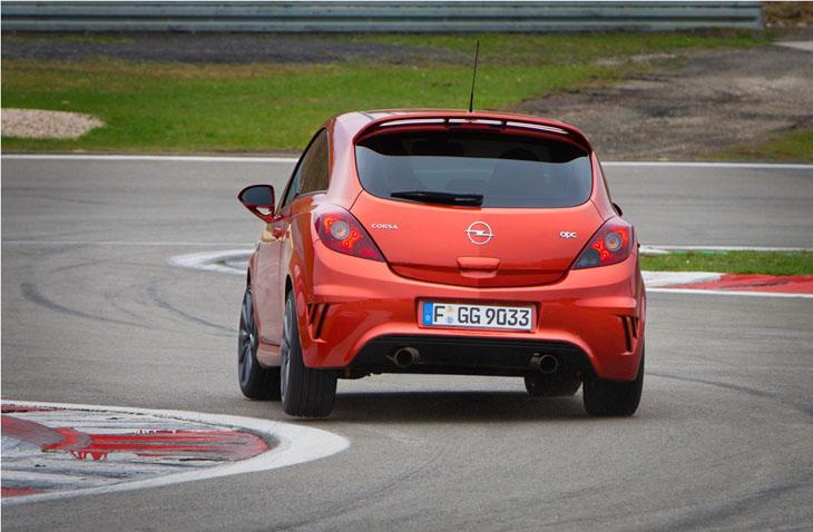 Opel Corsa OPC Nürburgring Edition.