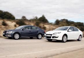 Renault Laguna 1.5 dCi vs VW Passat 1.6 TDI