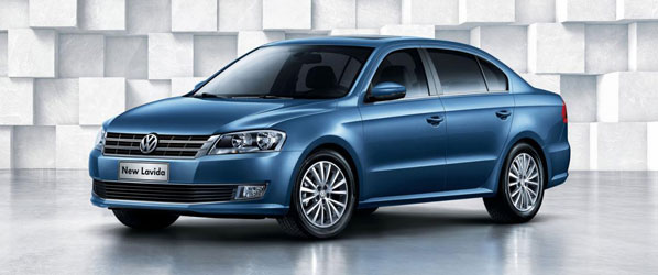 Volkswagen Lavida 2013, en el Salón de Pekín