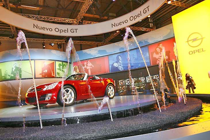 Opel GT, una de las grandes atracciones.