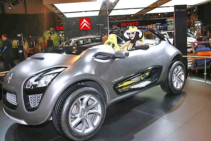 C-Buggy, un sorprendente concept de Citroën.