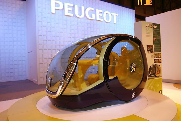 Peugeot y su original propuesta oval.