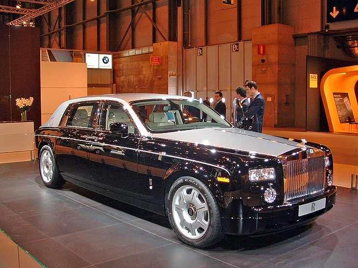 Los Rolls Royce siempre acaparan las miradas.