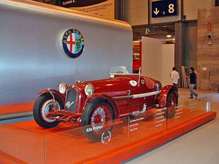 Ala Romeo 8C 2.300 Monza, un verdadero mito.