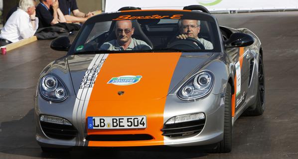Llega el Porsche Boxster E
