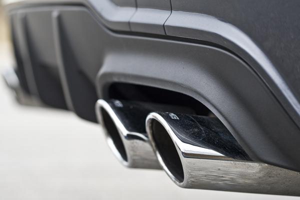 Mercedes C63 AMG la prueba