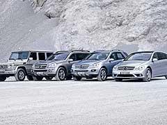 Los SUV de Mercedes