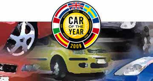 Candidatos para 'Car Of The Year 2009'