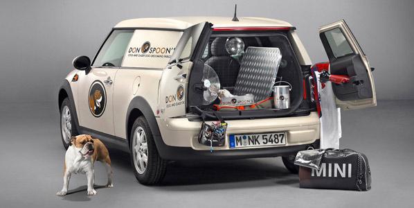 Mini Clubvan, el vehículo comercial más chic
