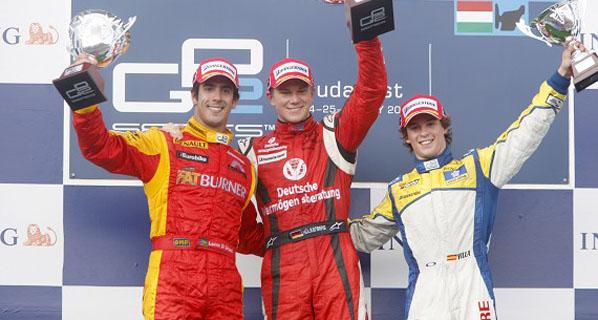GP2: Villa alcanza el podio