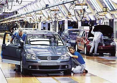 La fábrica de Wolfsburg ya monta el coche.