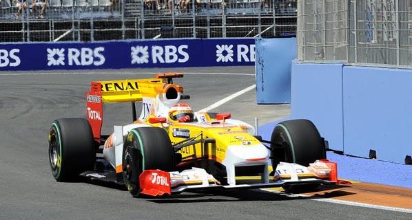 F1: La carrera de Alonso en Valencia