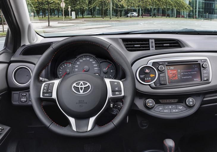 Toyota Yaris 2012, el contacto