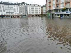 Alerta por lluvias en seis comunidades