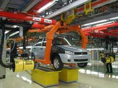 La producción de vehículos sube un 10 por ciento