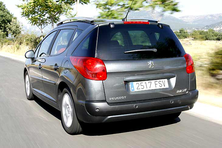 Peugeot 207 SW: la prueba