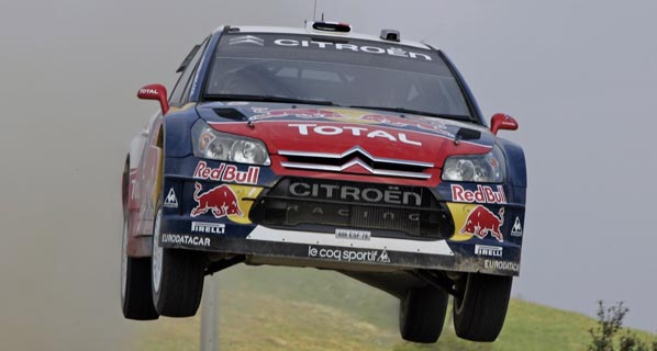 WRC: Loeb gana en Gales y logra su sexto mundial