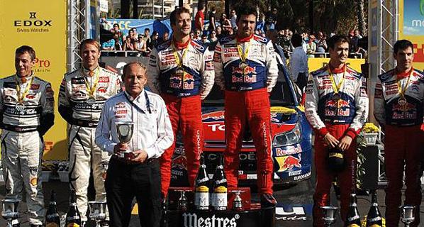 WRC: Loeb se impone en Cataluña