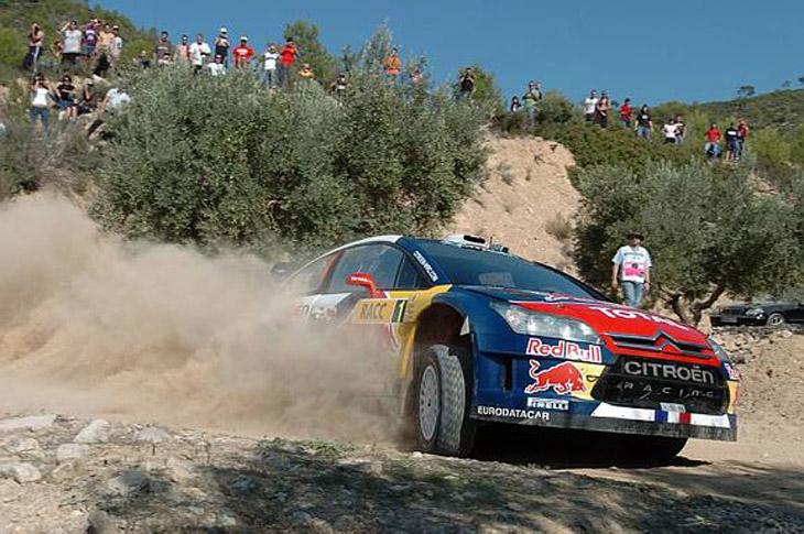 Rally de Cataluña 2010.
