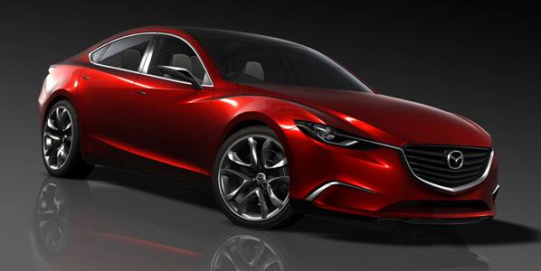 Mazda Takeri, el nuevo Mazda 6