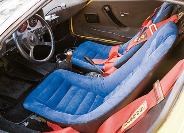 Lancia Stratos Motor Clásico