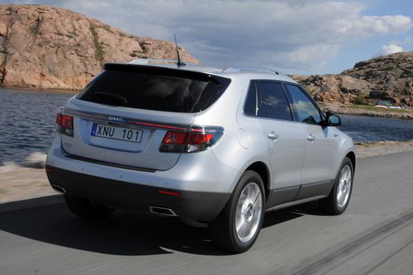 Nuevo Saab 9-4X