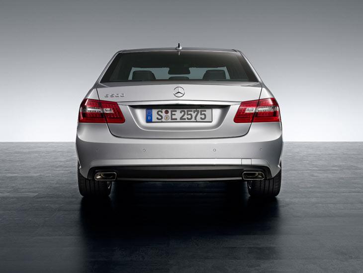 Mercedes Clase E con paquete AMG