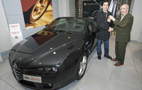 El ganador de Alfa Naming ya tiene su coche
