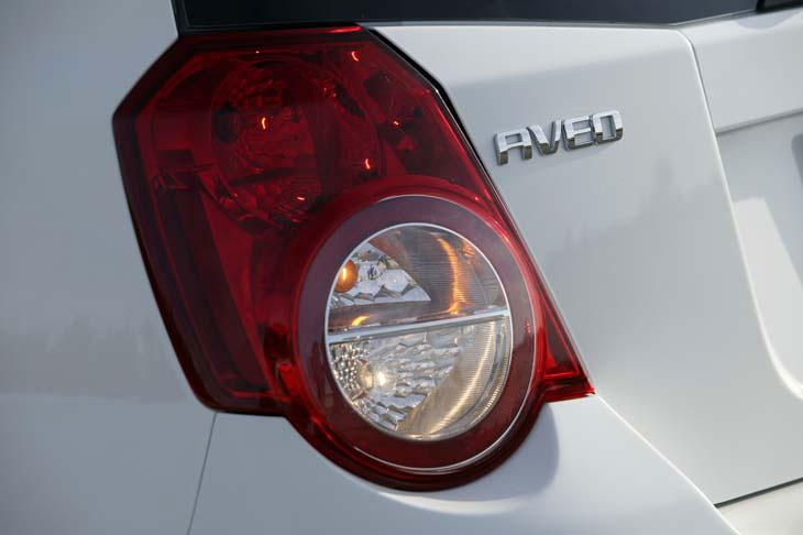 Chevrolet Aveo: detalles