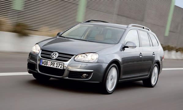 VW Golf Variant 4Motion, máximo agarre