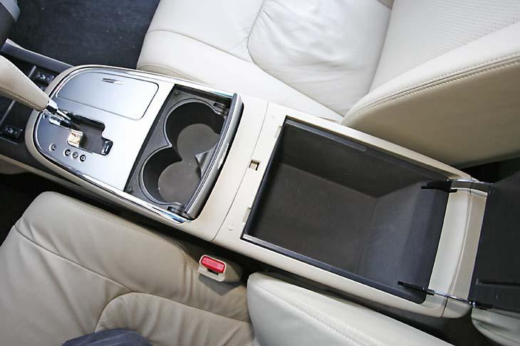 Nissan Murano 3.5 V6, el interior