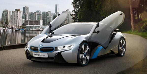 BMW i8, listo en 2014