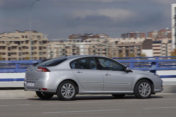 Renault Laguna la prueba