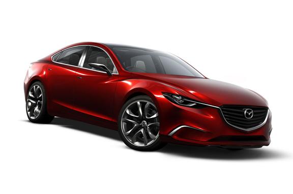 El nuevo Mazda 6, en otoño de 2012