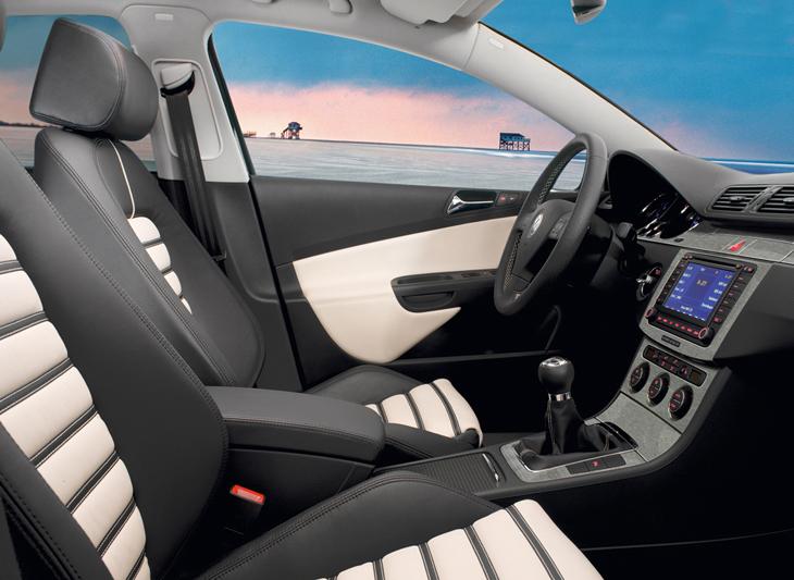 Más equipamiento para el VW Passat