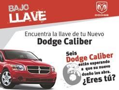 Dodge Caliber bajo llave