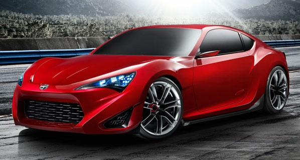 Scion FR-S Concept, deportivo total