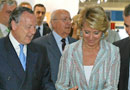 Esperanza Aguirre inaugura el Salón de Madrid