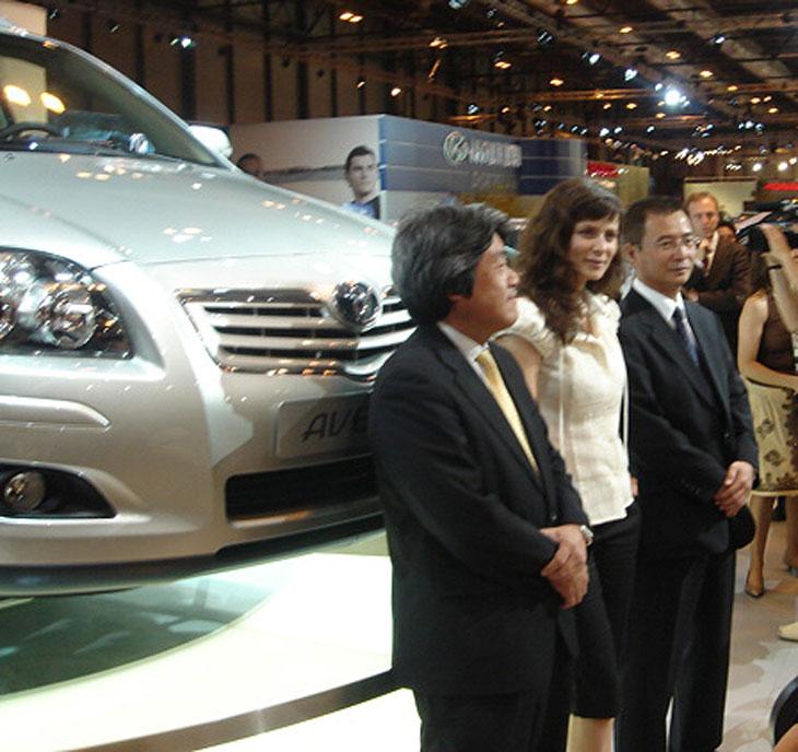 Toyota: Mejoras para el Avensis