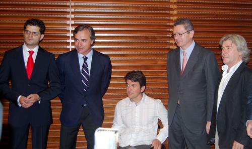 Isidre Esteve presenta su libro en Madrid