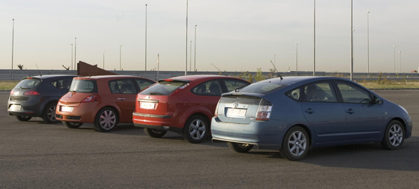 Los coches de empresa, también en crisis