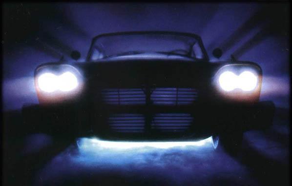 Automóviles terroríficos de ficción
