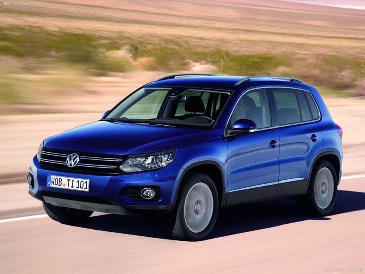 Volkswagen Tiguan 2012.