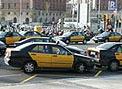 El conflicto del taxi siembra el caos en Barcelona
