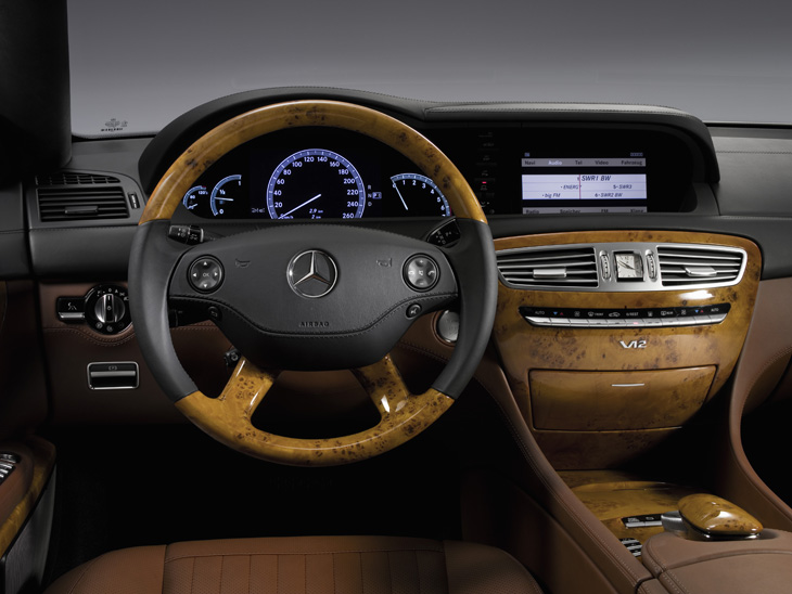 Mercedes CL, a la venta en octubre.