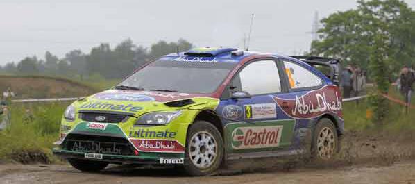 WRC: Loeb fuera, Hirvonen manda