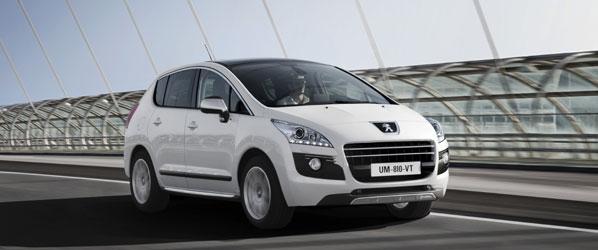 Peugeot Hybrid 4, a la venta