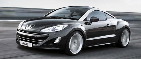 Peugeot RCZ, espectacular