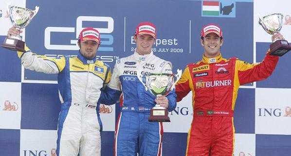 GP2: Villa puntúa en la segunda carrera