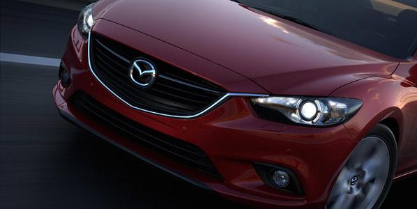 El nuevo Mazda 6 ya luce sus encantos